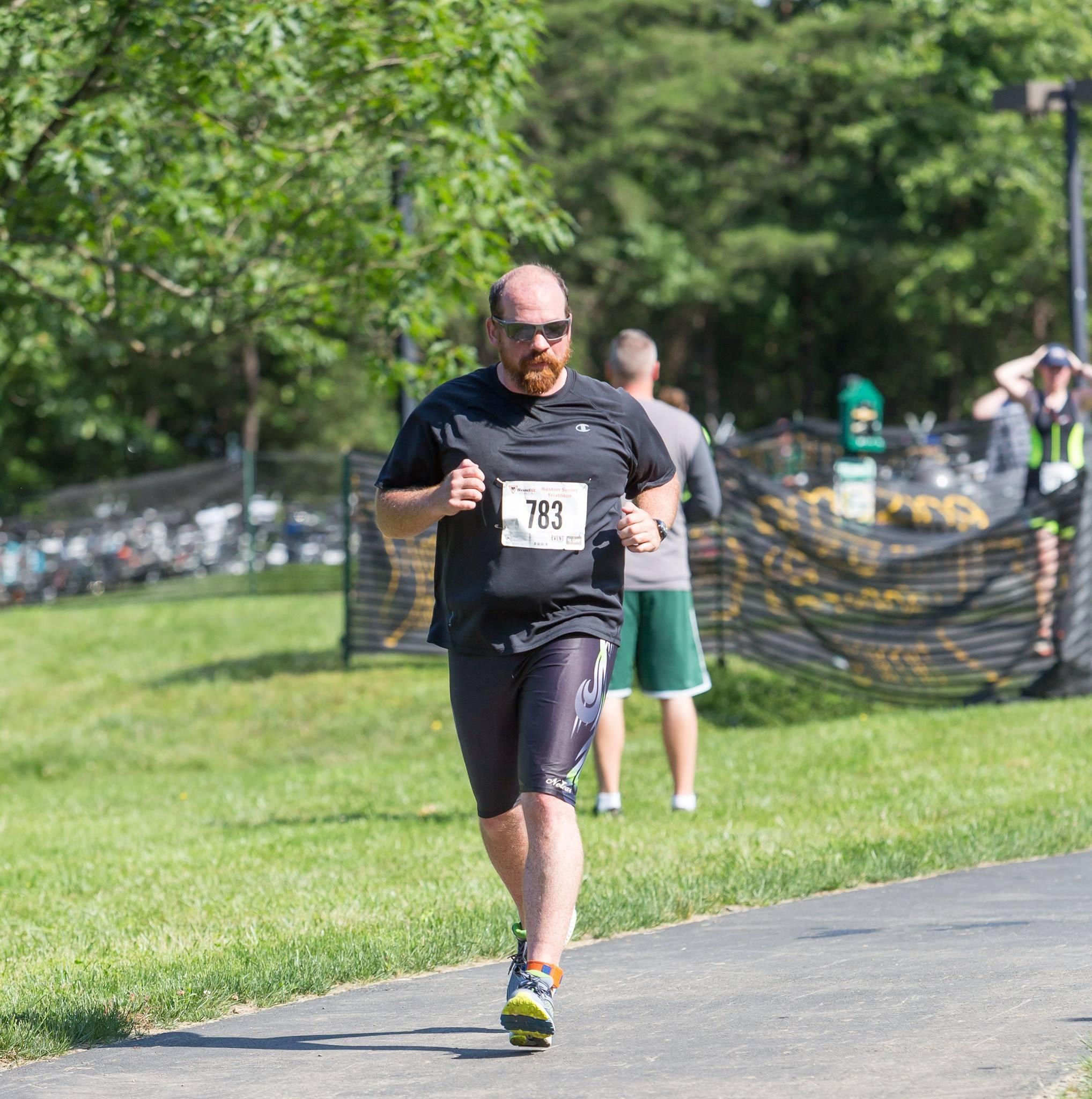 Official run photo