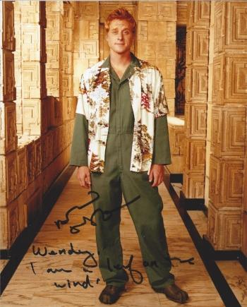 """Alan Tudyk as Wash in Firefly """"I am a leaf on the wind."""""""