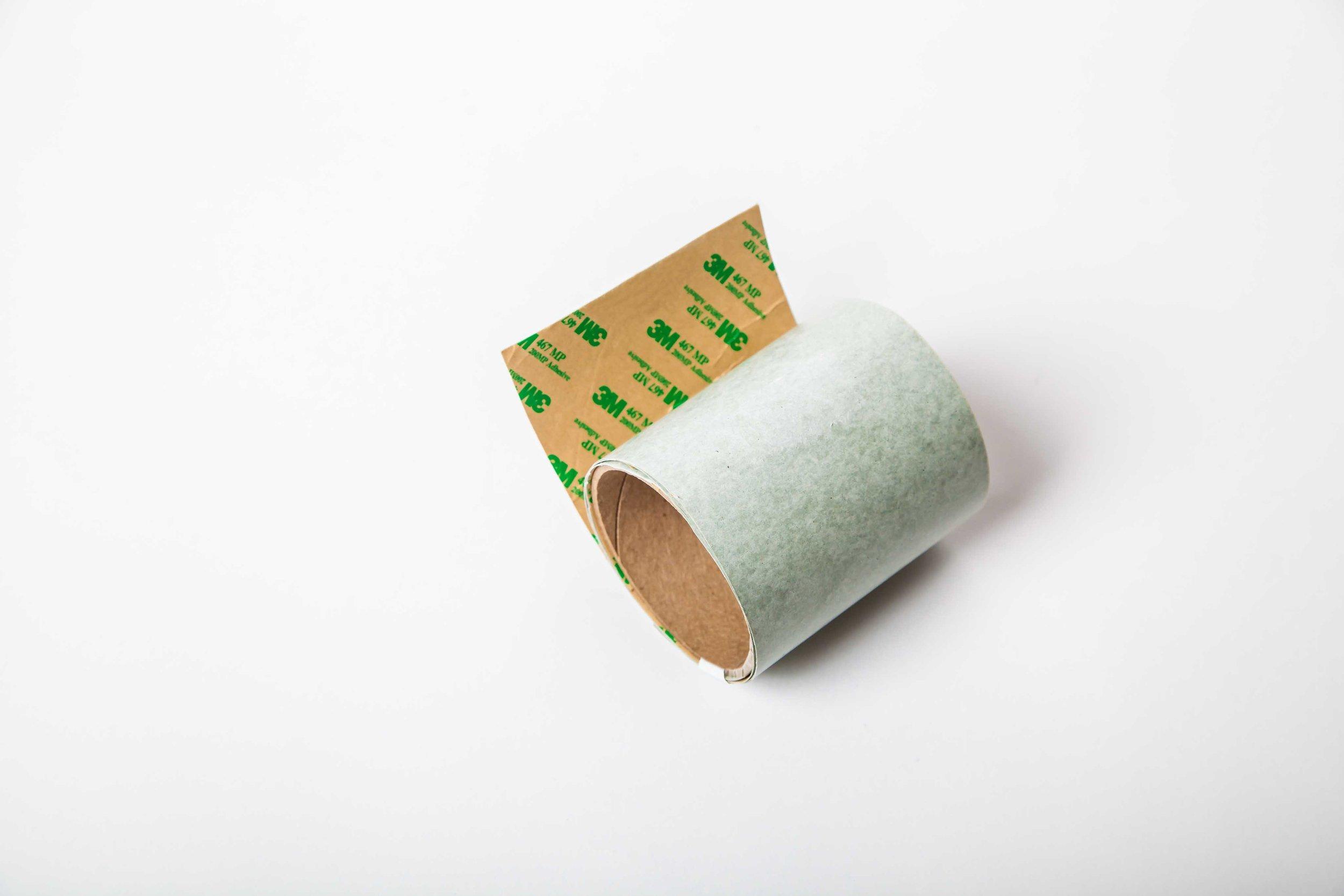 "*Adhesive*  Fish Paper (4.5"" X 50')  3M Adhesive Backing"