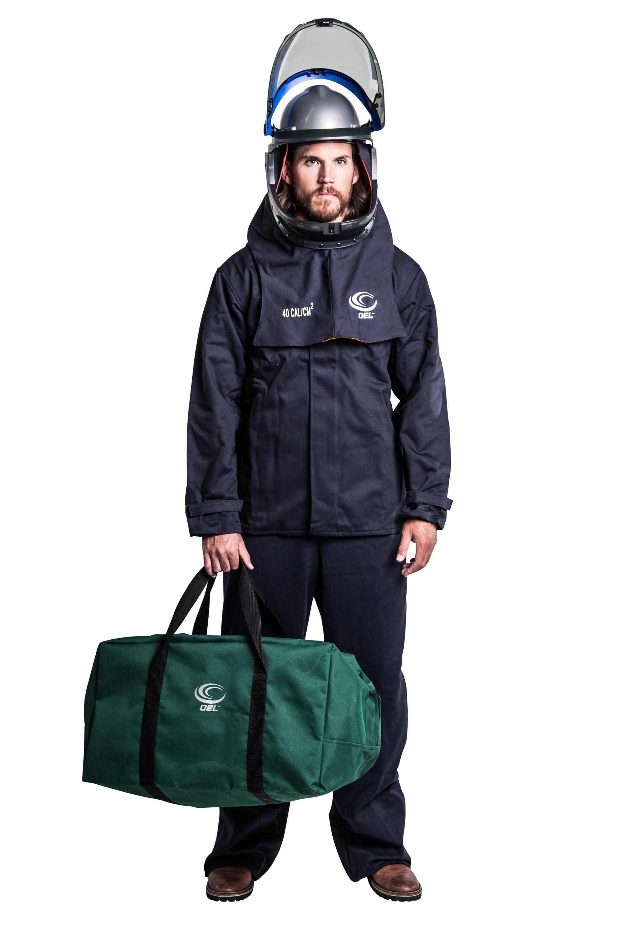 40 Cal Navy Jacket & Bib Kit with Lift-Front Hood