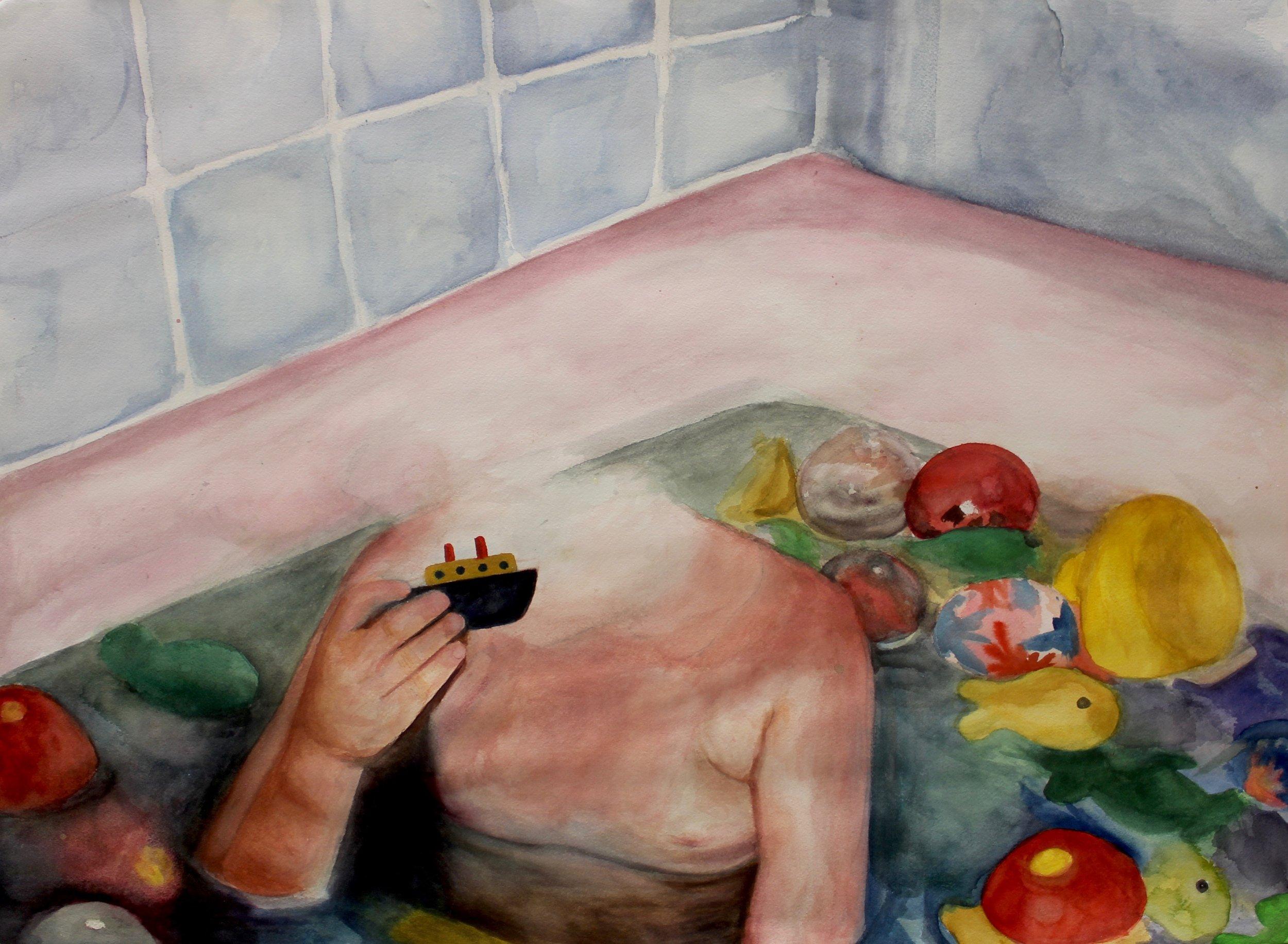 Watercolor, 2016
