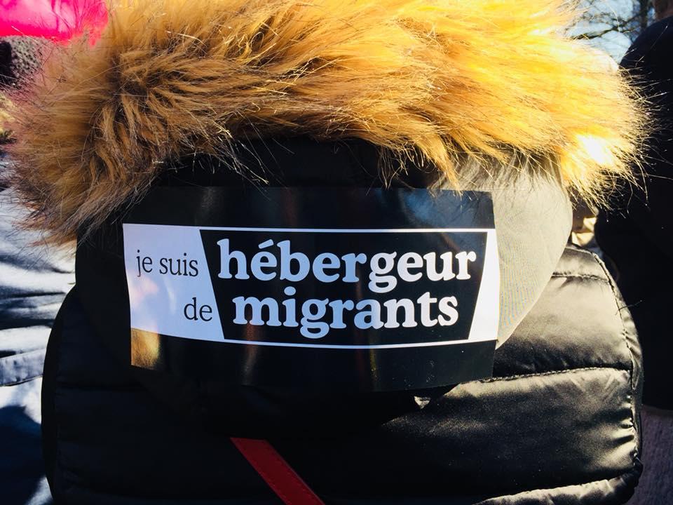 Solidarité avec les réfugiés - #RefugeesWelcome #JeSuisHumain