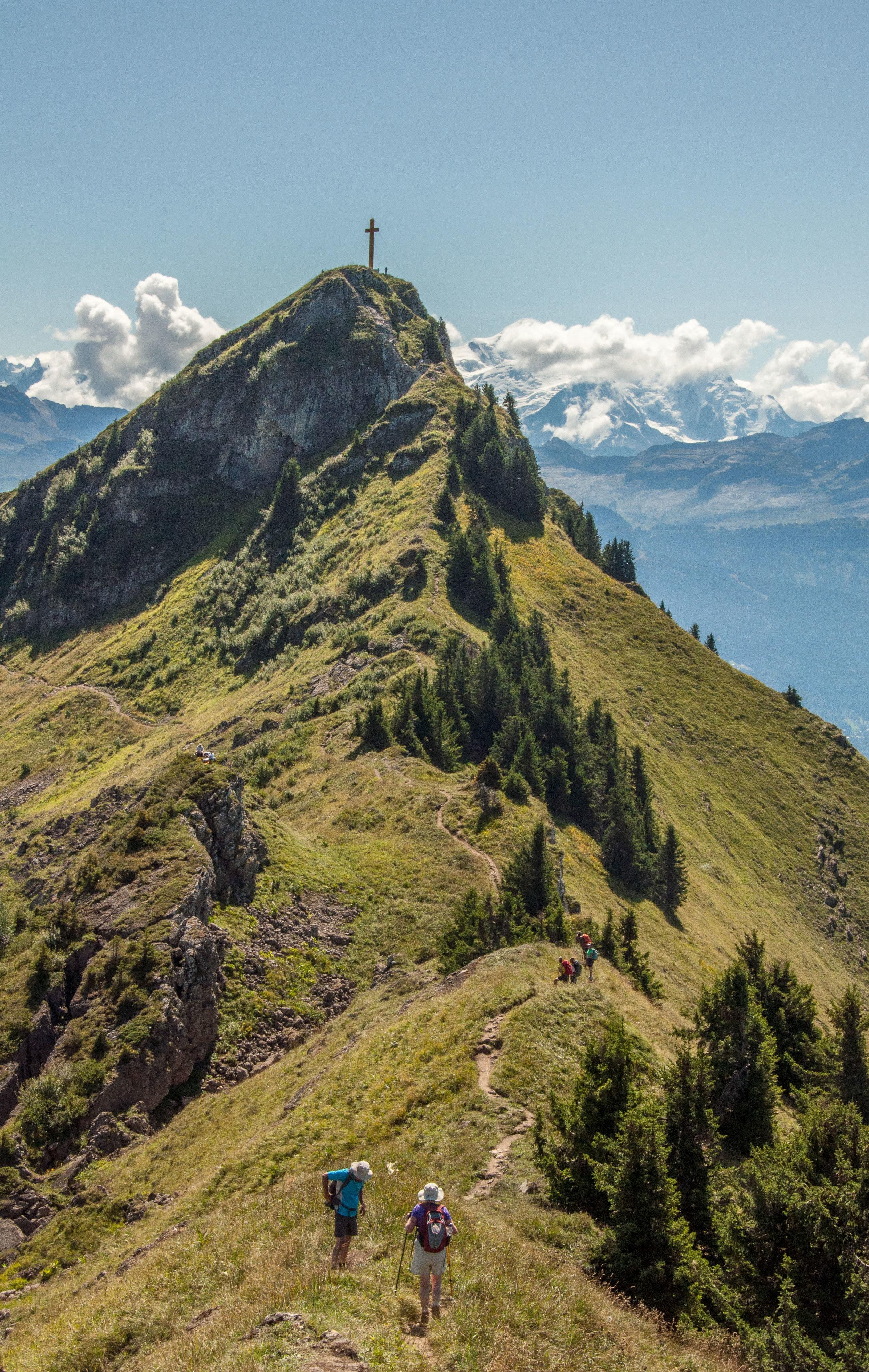 Walking in Alps