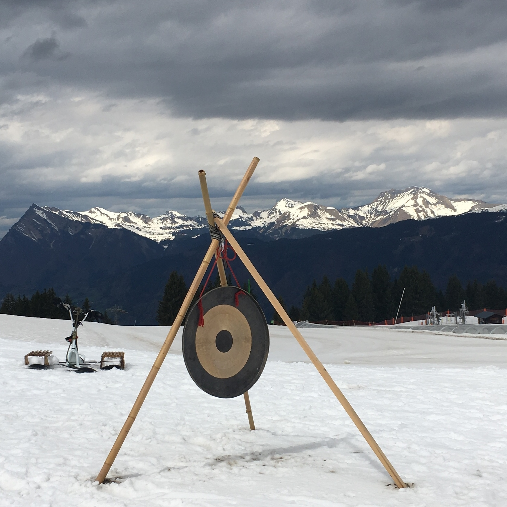 target practice or a gong?