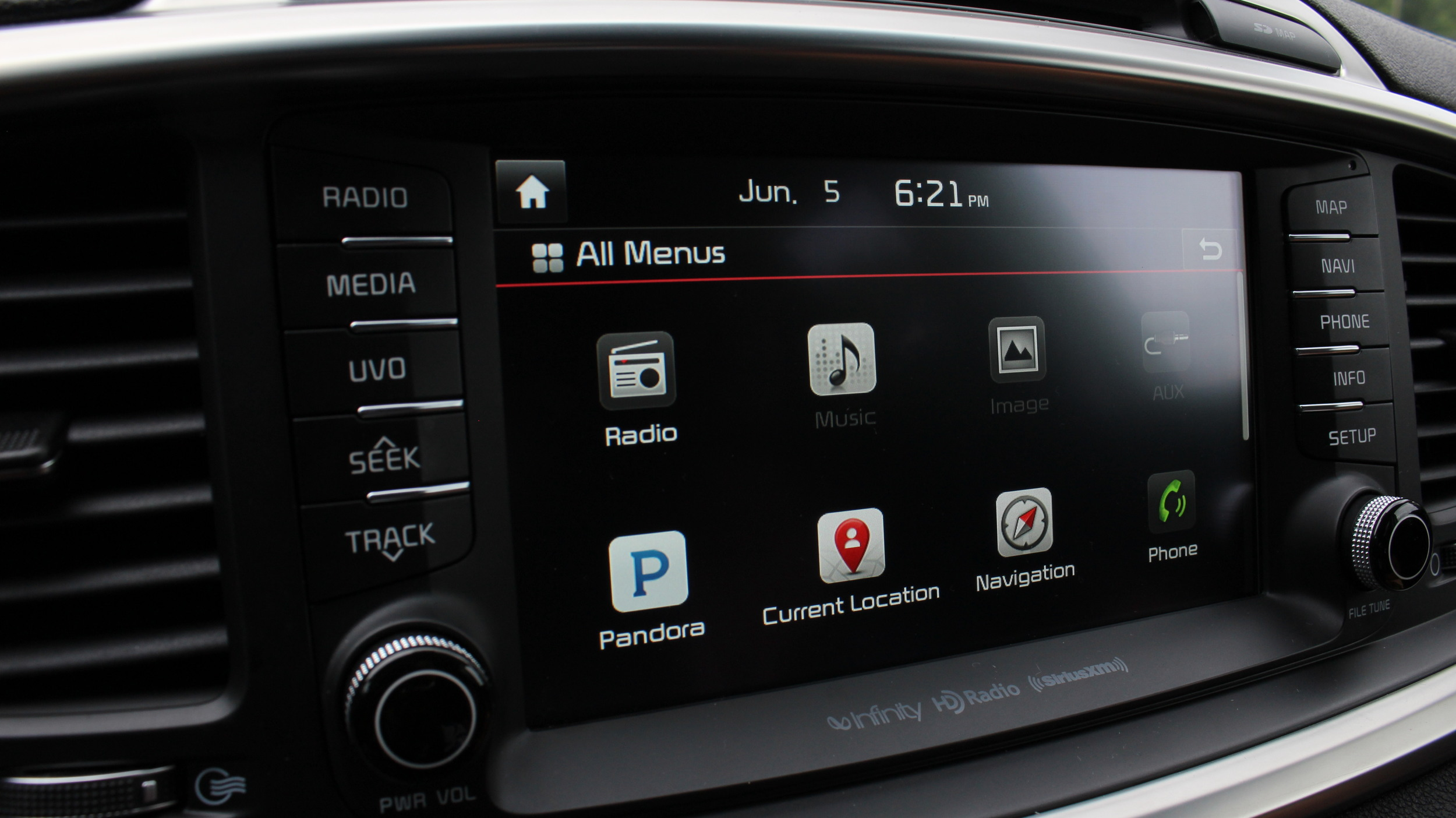 Navigation & Entertainment System