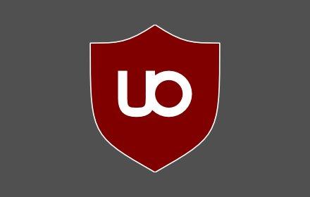 uBlock Origin - An easy to use ad blocker.