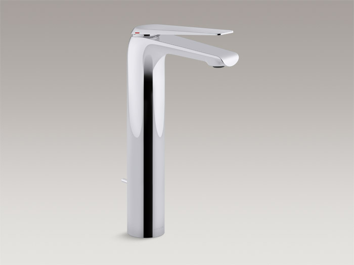 Tower single-handle bathroom sink faucet    K-97348T-4    Without drain    K-97348T-4ND