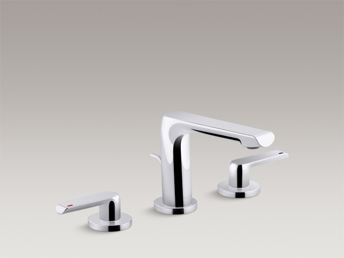 Widespread bathroom sink faucet    K-97352T-4    Without drain    K-97352T-4ND