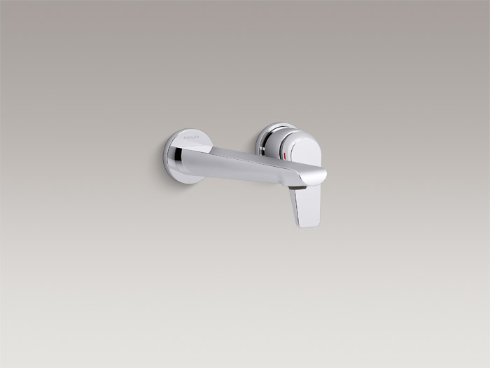 Wall-mount single-handle bathroom sink faucet trim    K-97358T-4     Specs and Details