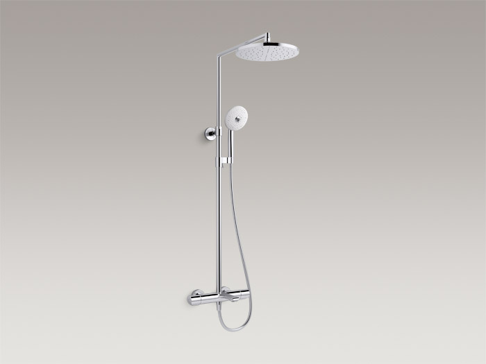 Thermostatic bath/shower column, includes all components    K-97389T-9