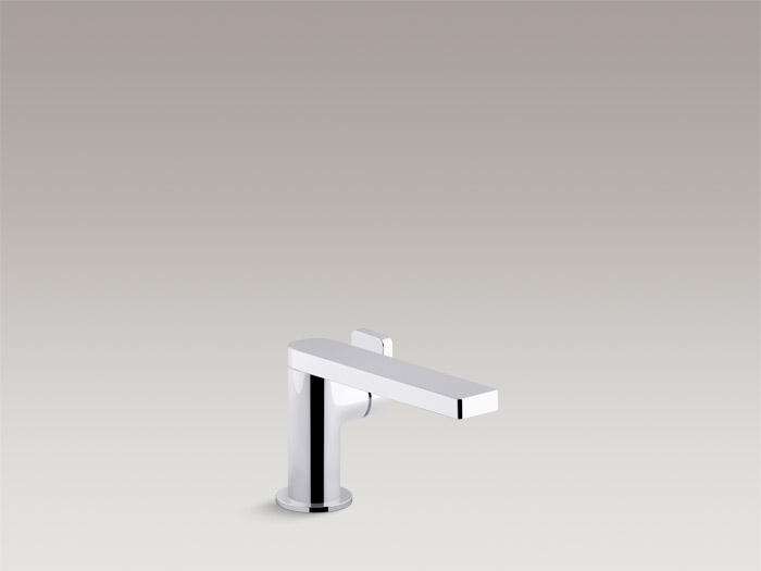 Single-handle bathroom sink faucet with lever handle    K-73167T-4
