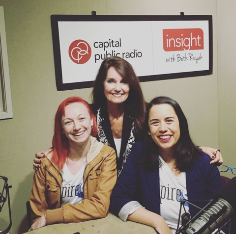 Co-Founders Emily and Jessilee    on Insight    with Beth Ruyak on Capital Public Radio.