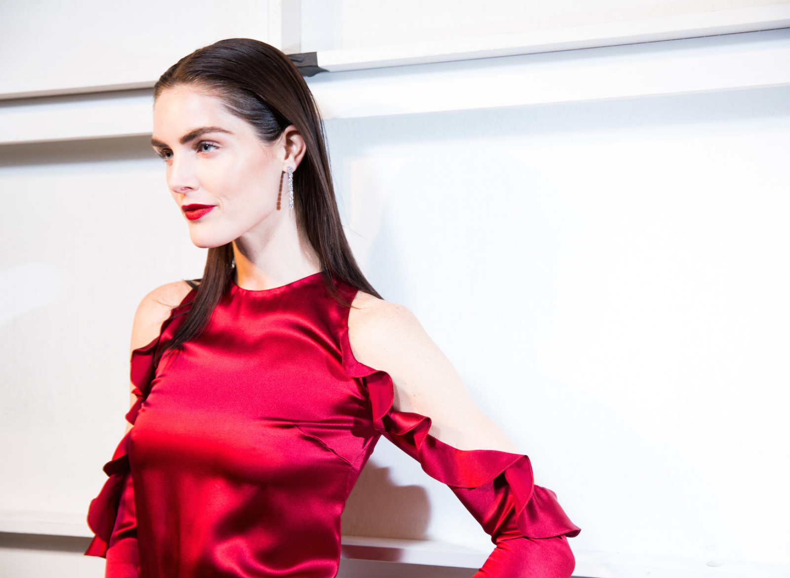 Hilary Rhoda with IMG Worldwide