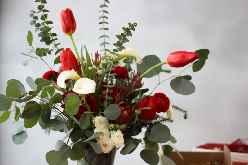 Red Bouquet #2