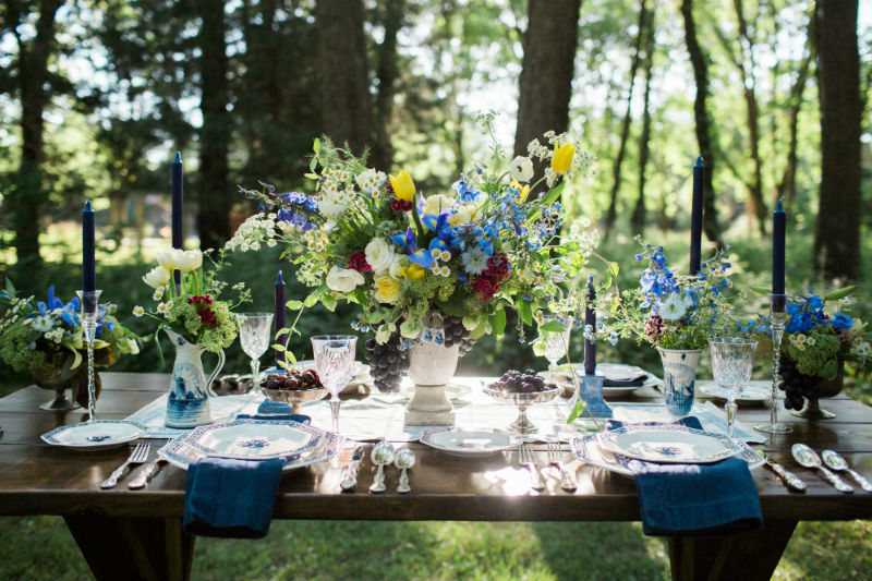 Dutch Floral Photoshoot Tablescape