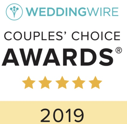 Wedding Wire - Couples Choice Award 2019