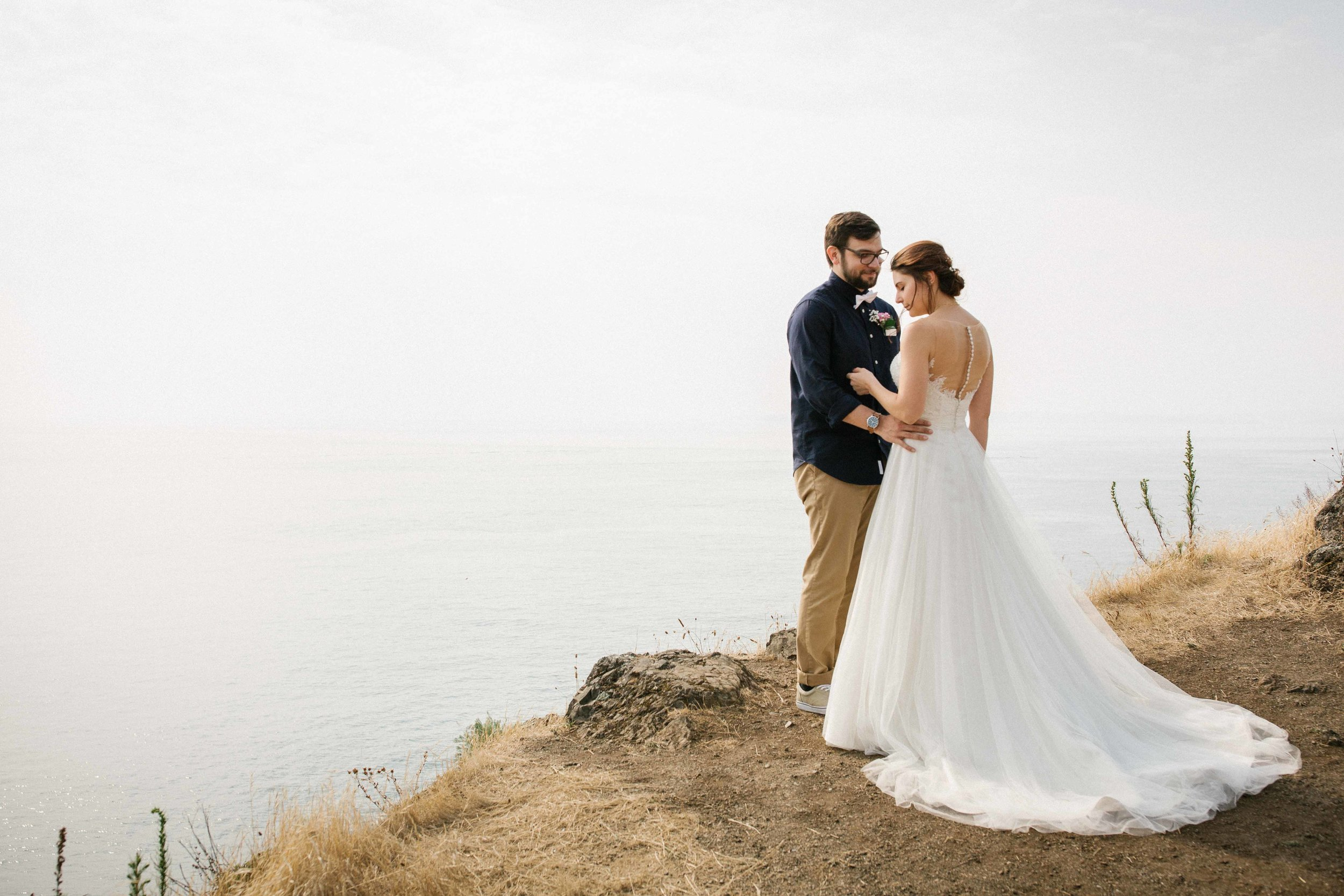 Deception Pass Wedding Ceremony