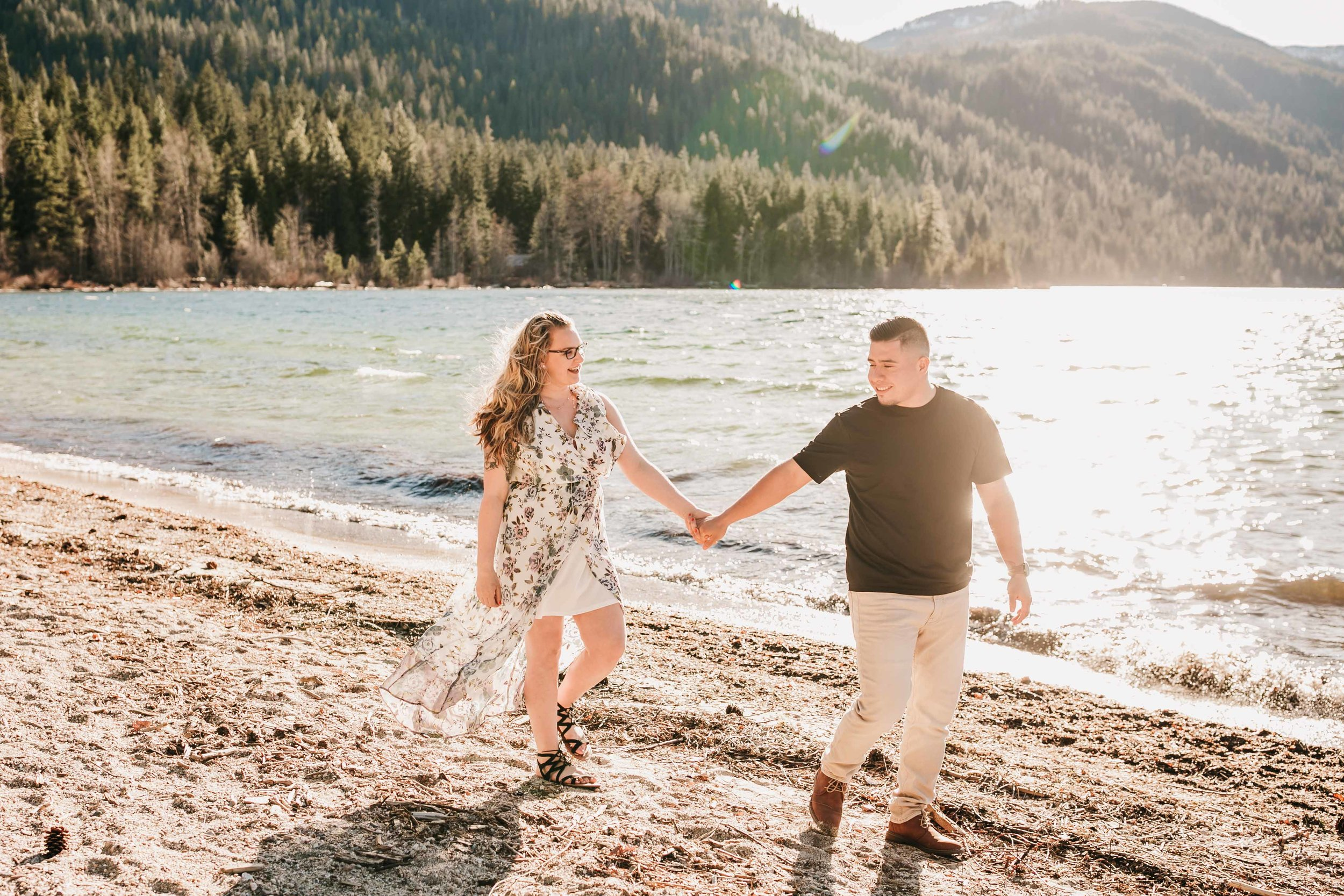 Lake Wenatchee Engagement Session