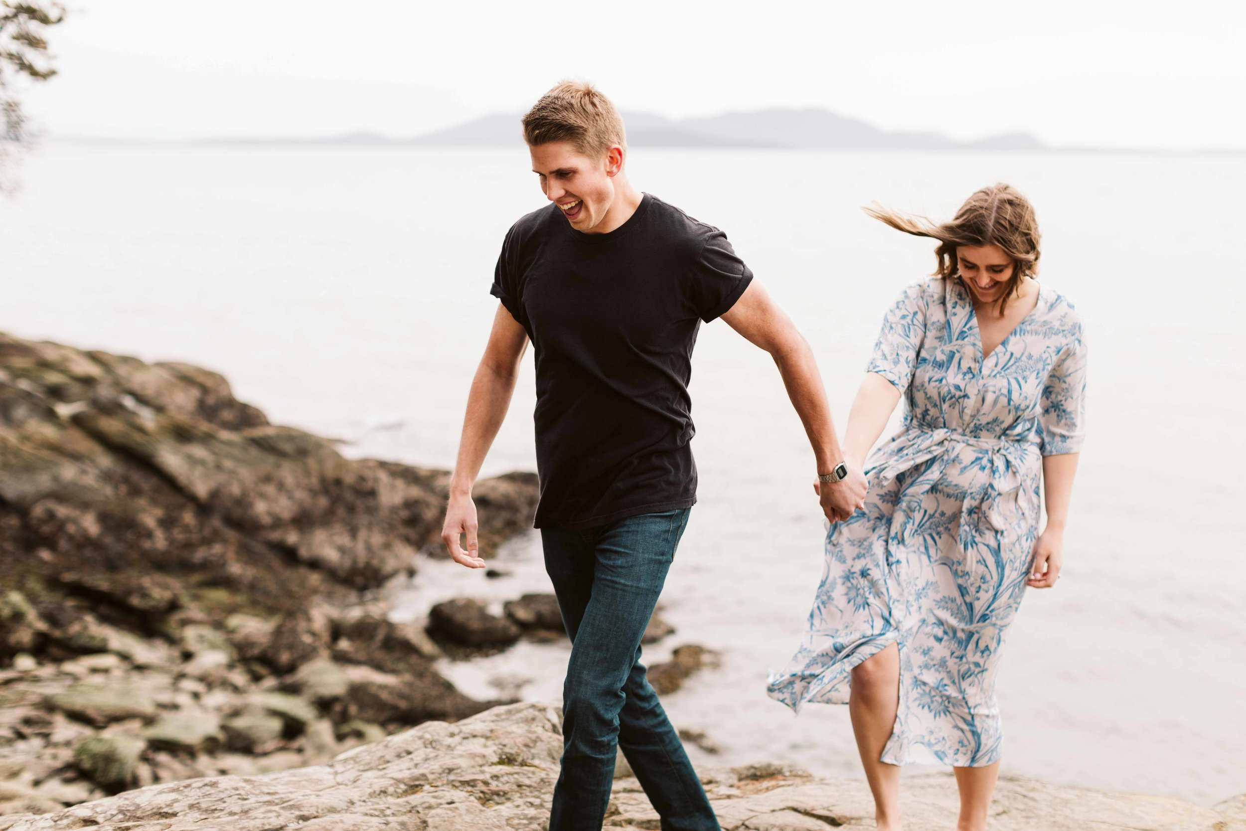 Larrabee State Park Couples Session