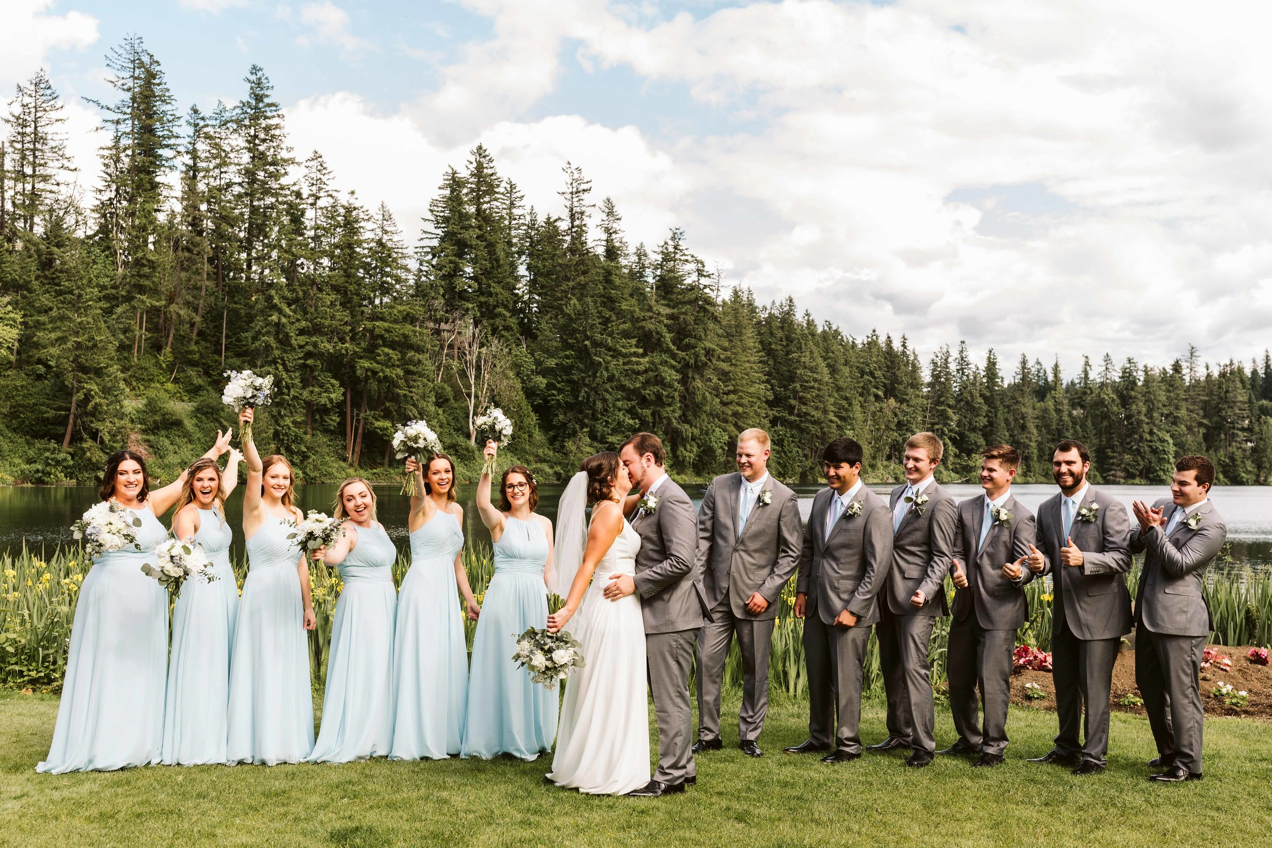 Lake Wilderness Lodge Wedding