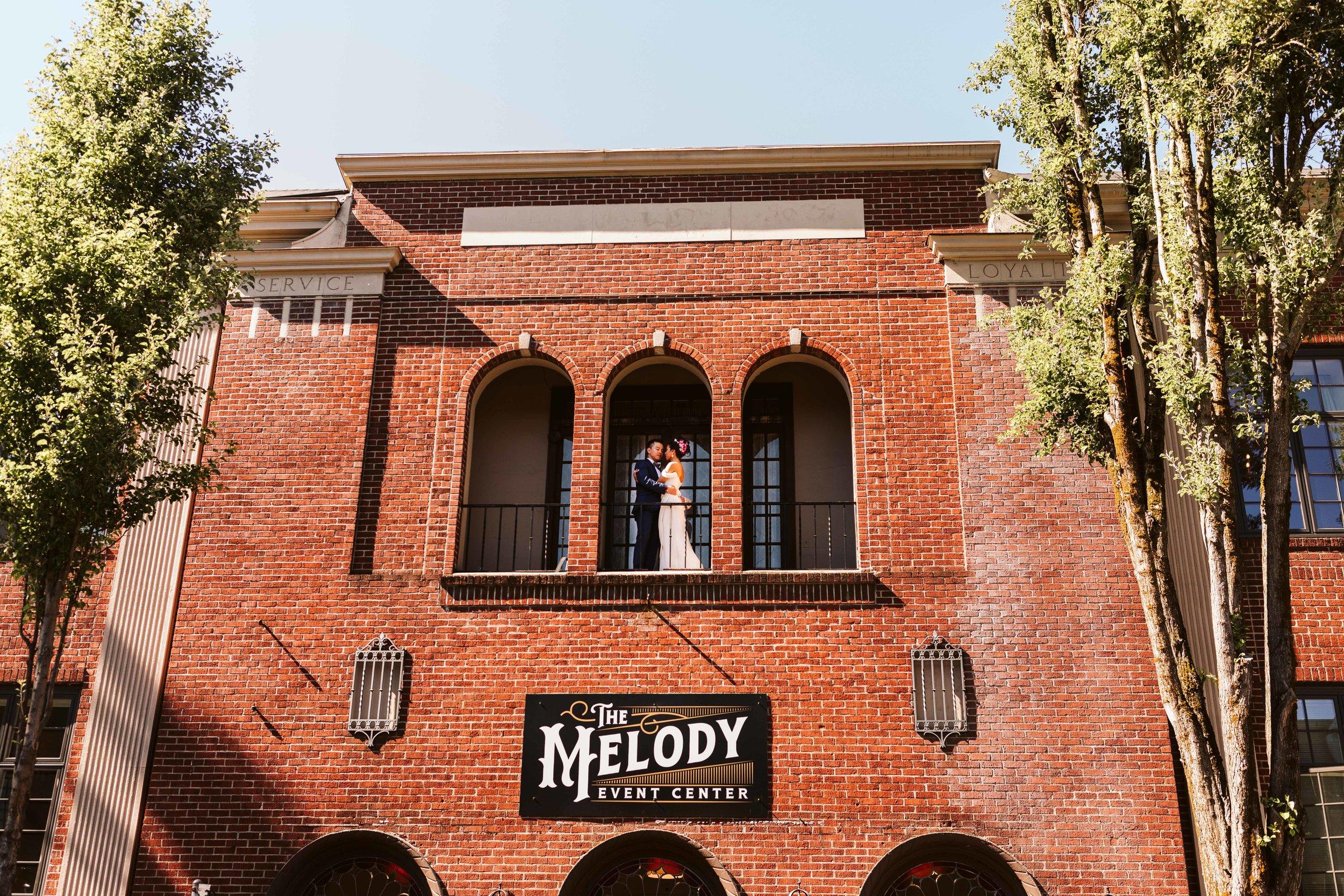 Melody Ballroom, Portland, OR Wedding