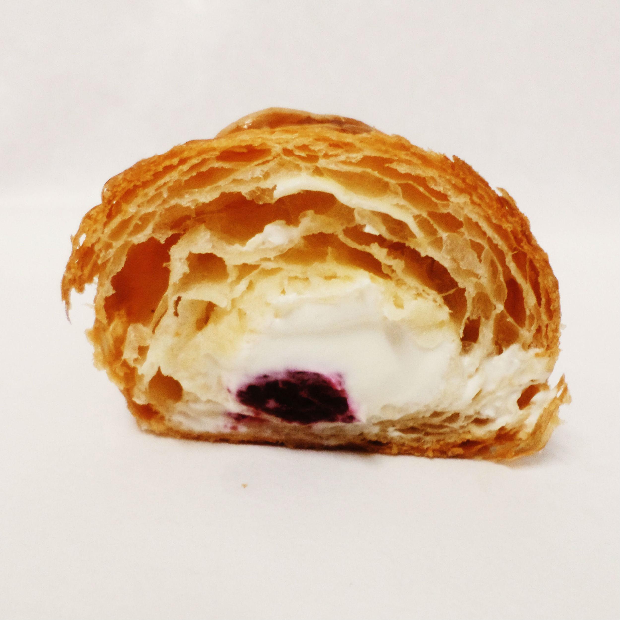 Relleno del croissant