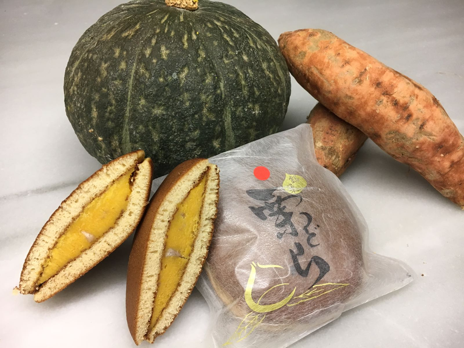 Dorayaki de castanya amb anko