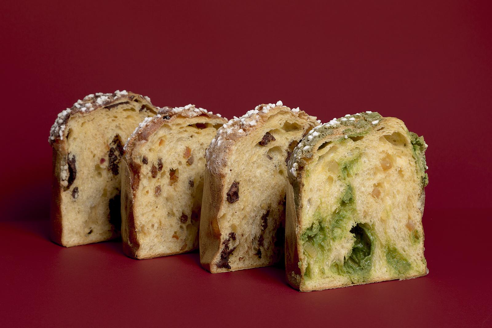 Elaborem quatre varietats de panettone.