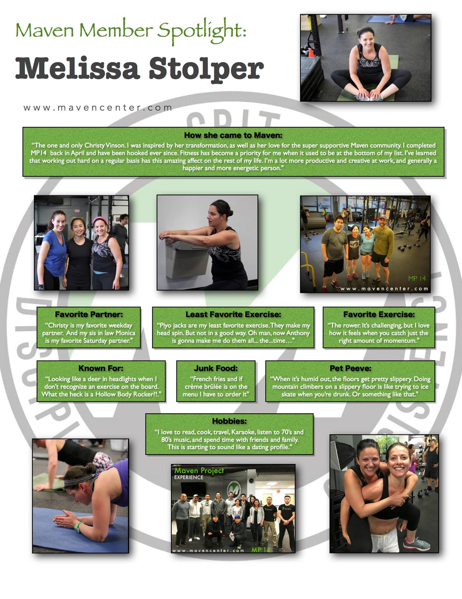 Melissa's Spotlight