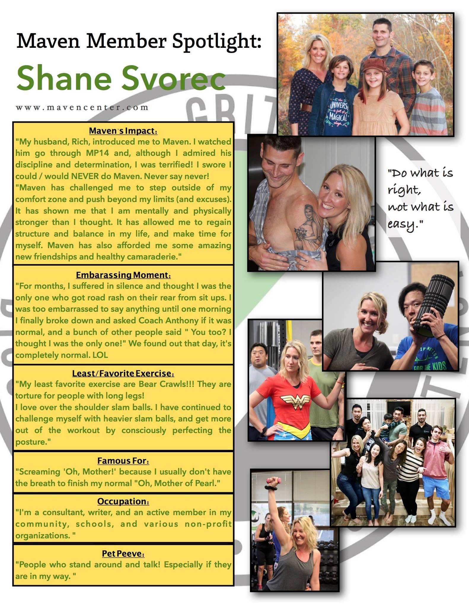 Shane's Spotlight