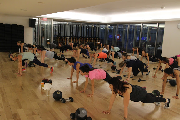 Sweatworking @ Equinox - April 7th, 2016