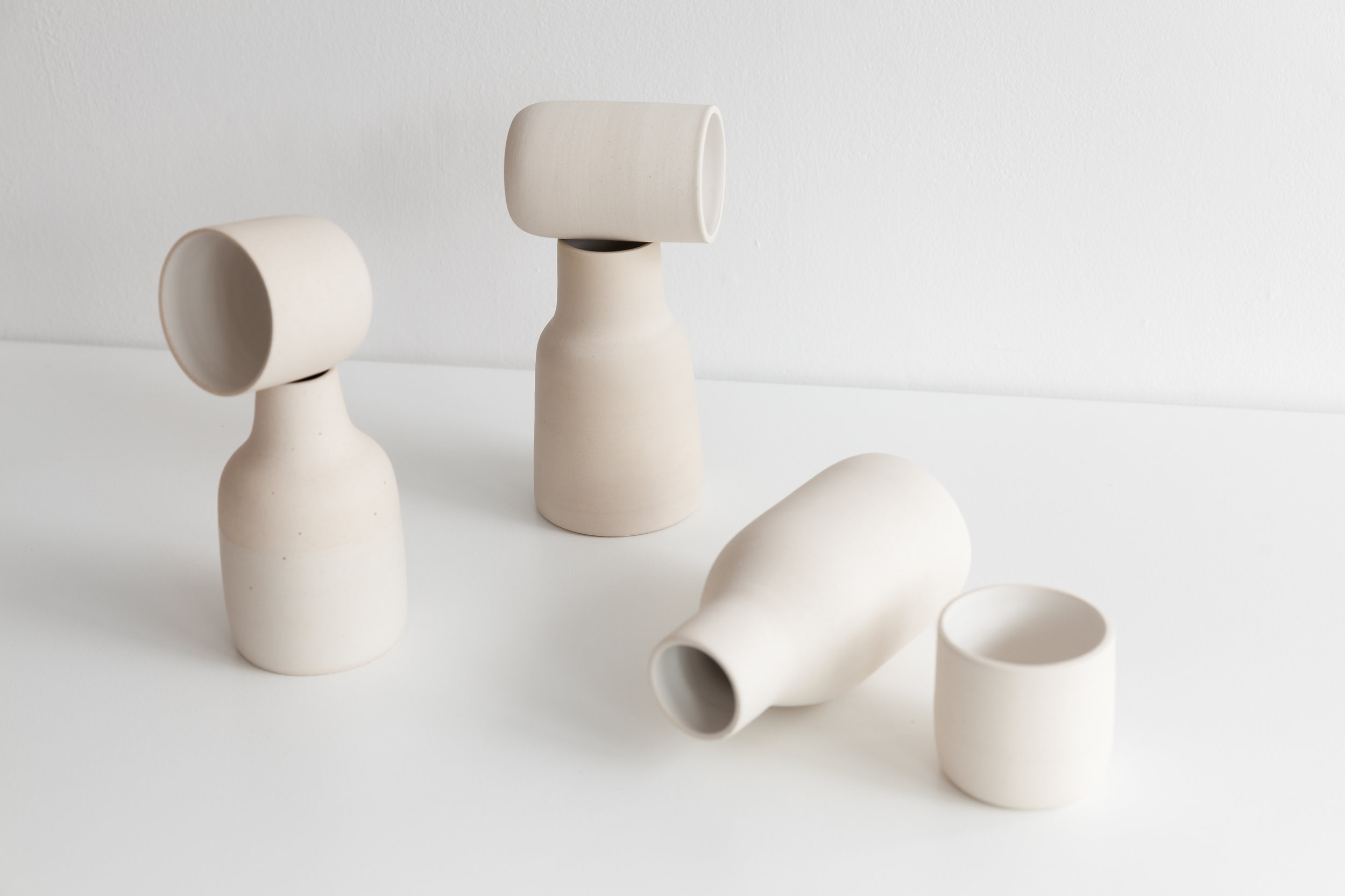 LOVERS' QUARREL  | Carafes by Mima Ceramics