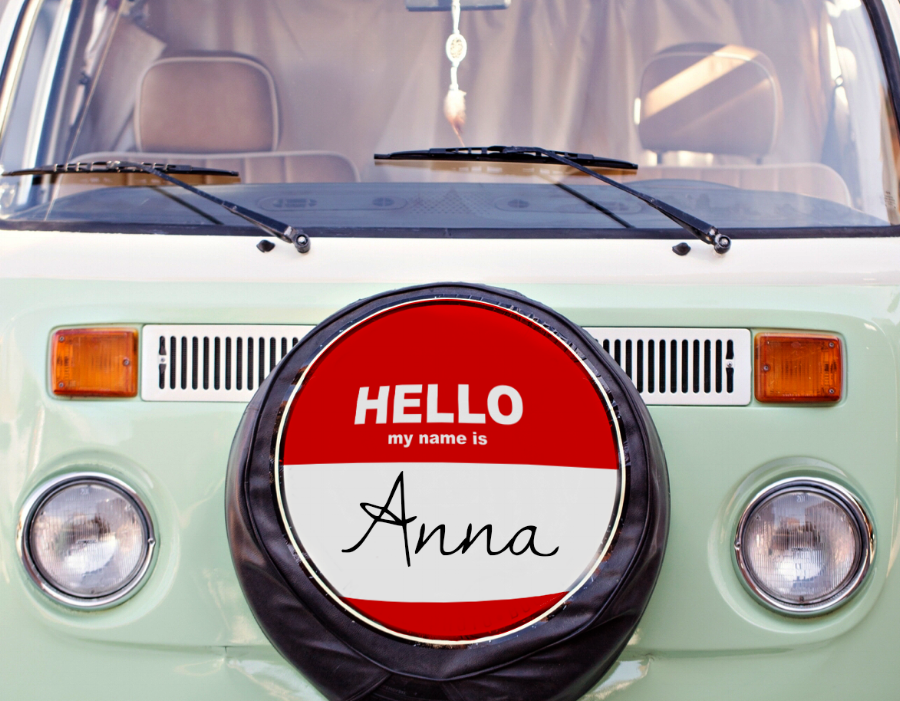 Anna the Vanna's name honors her past owners.