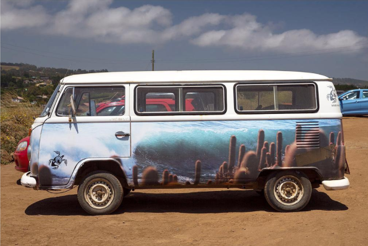 If you can't go to the desert, might as well paint it on the side of your van!
