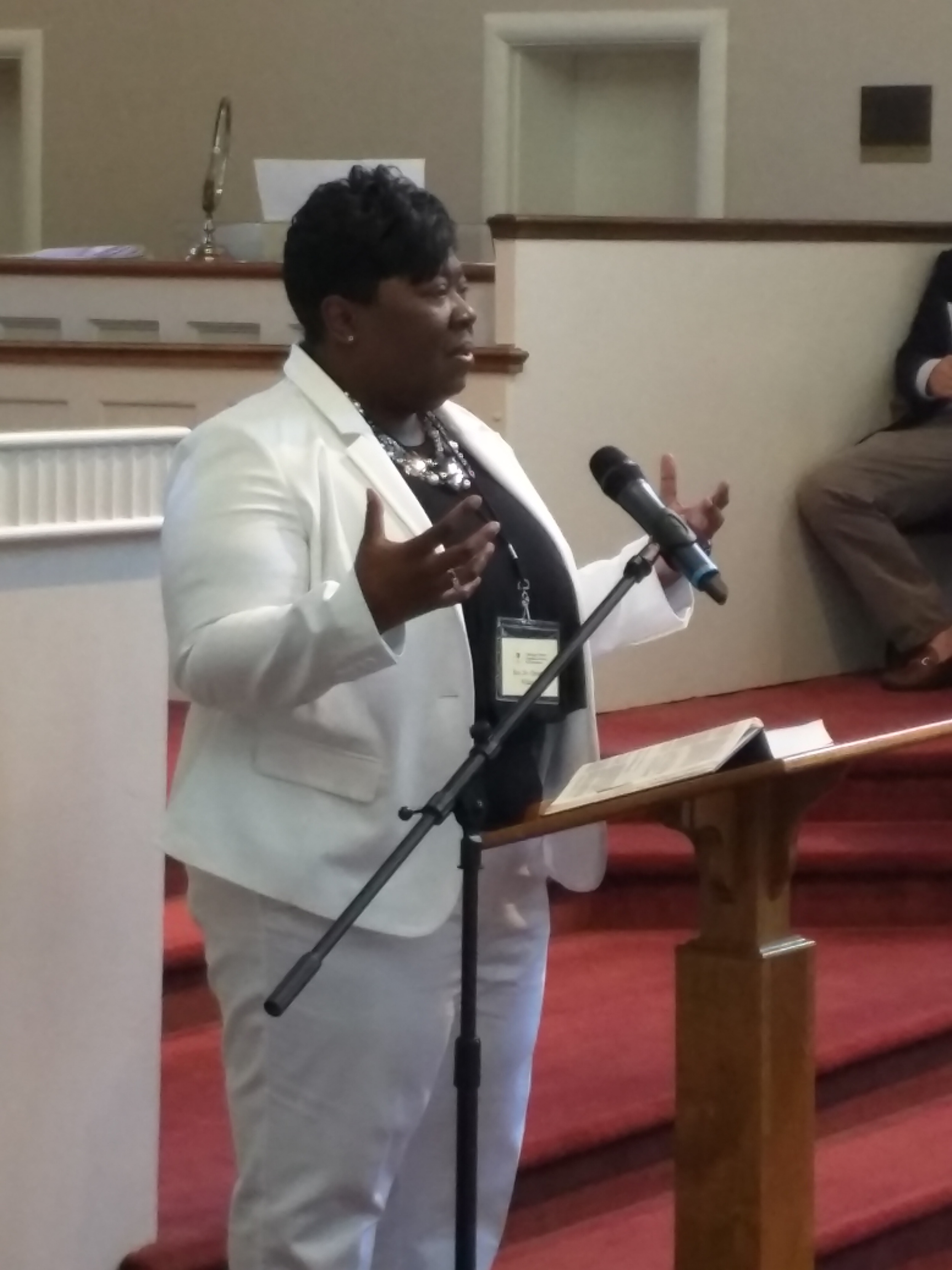 Rev. Dr. Christal Williams