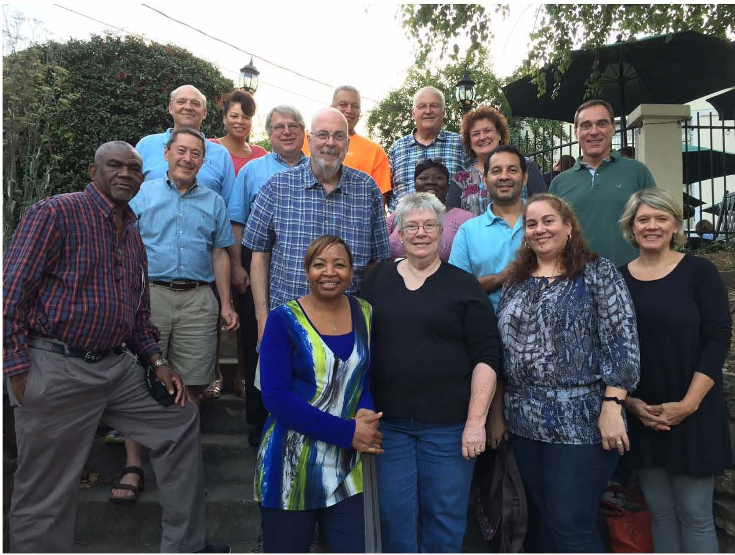 Dr. Williams @ the SERF (South East Regional Fellowship) annual gathering at Christmount in Asheville, North Carolina September 14, 2016