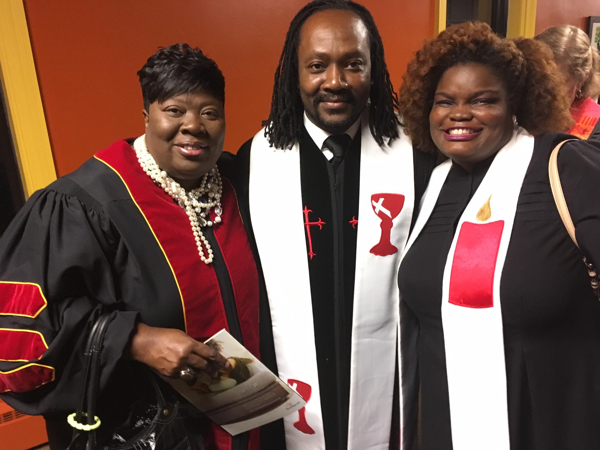 Rev. Dr. Christal Williams, Rev. Chris Dorsey, Rev. Virzola Law