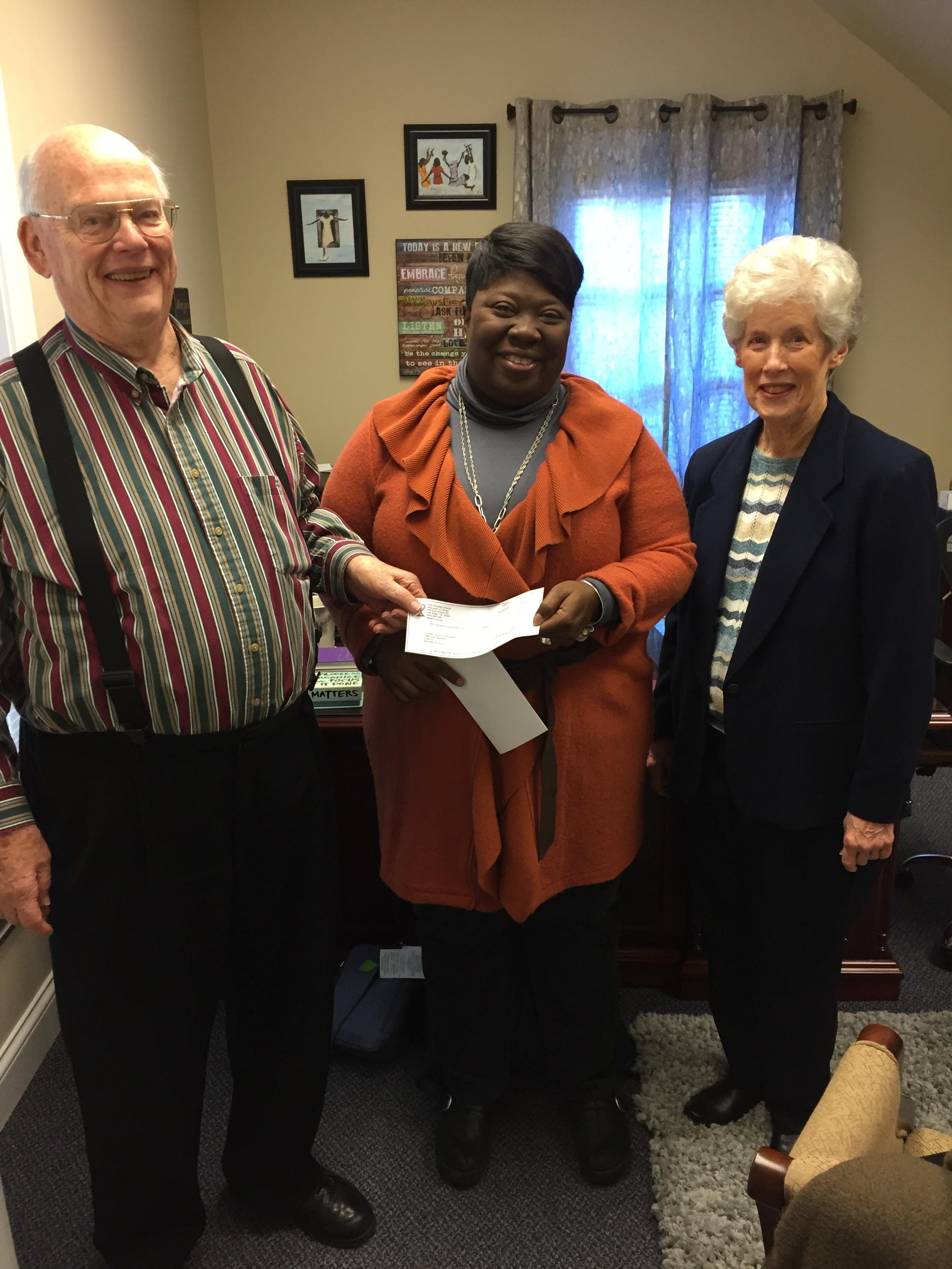 Dr. Williams w/Bill & Barbara Wilson