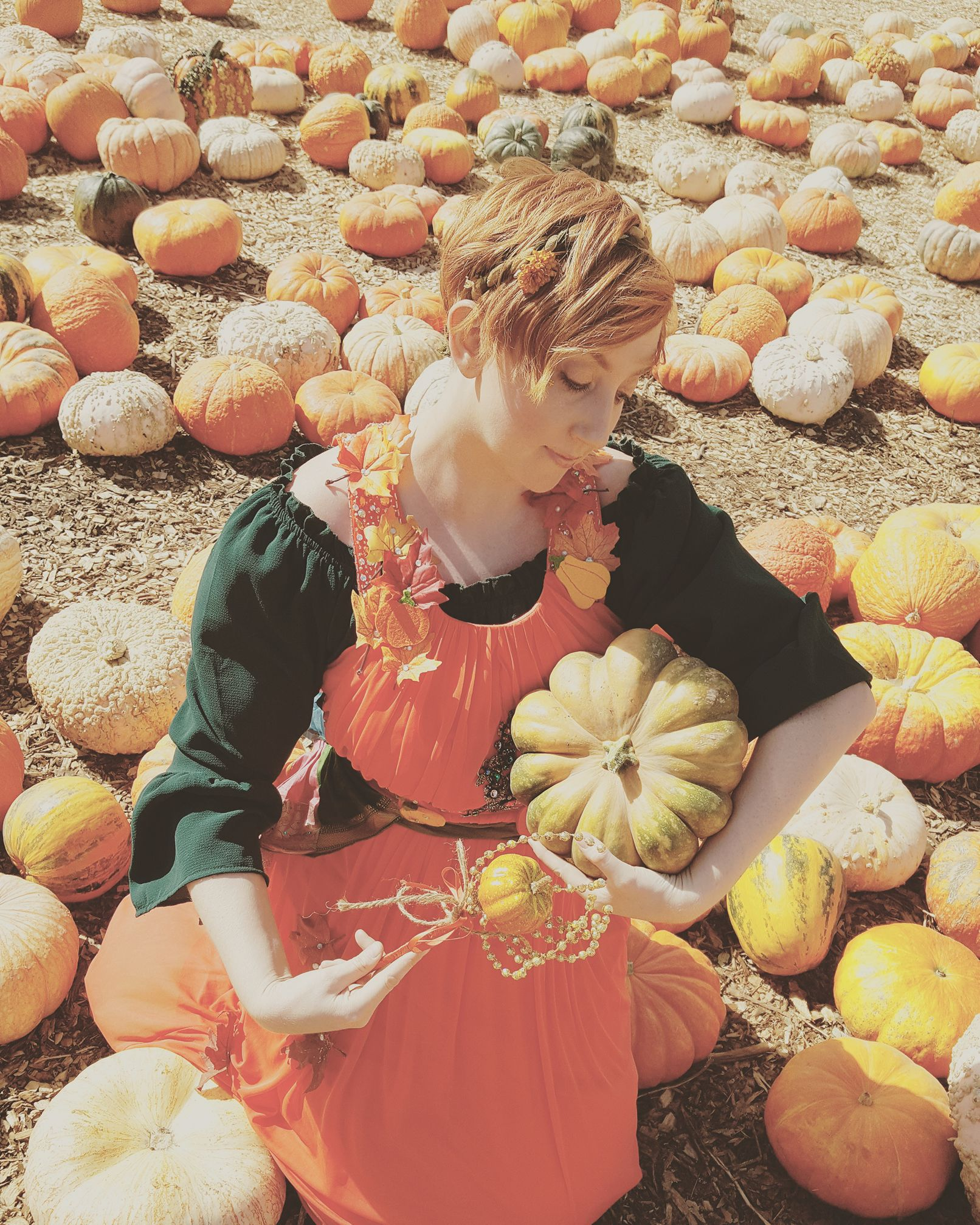 Pumpkin Harvest Princess