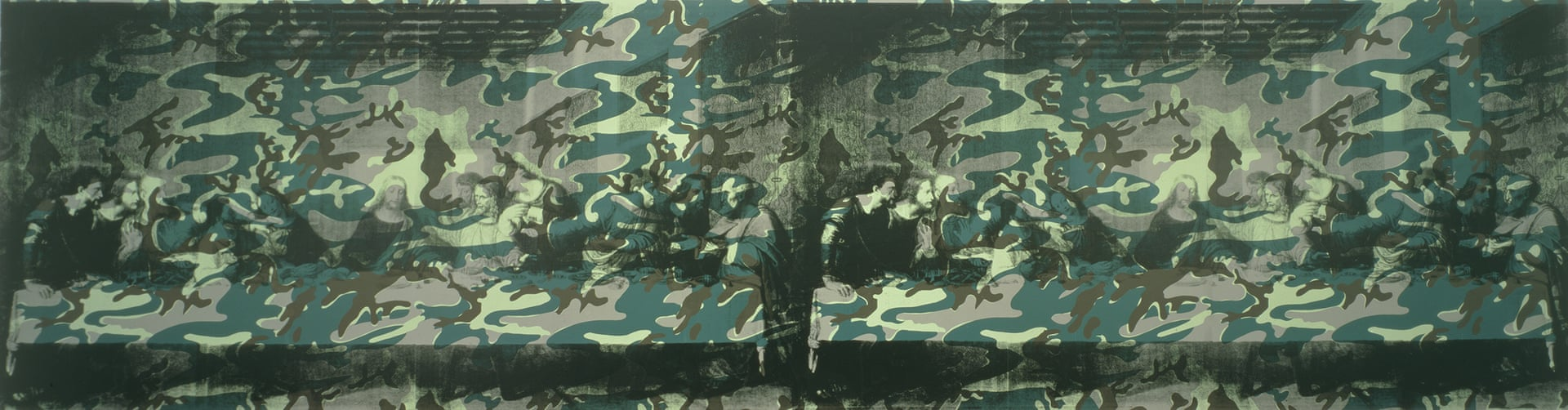 Camouflage Last Supper (1986):