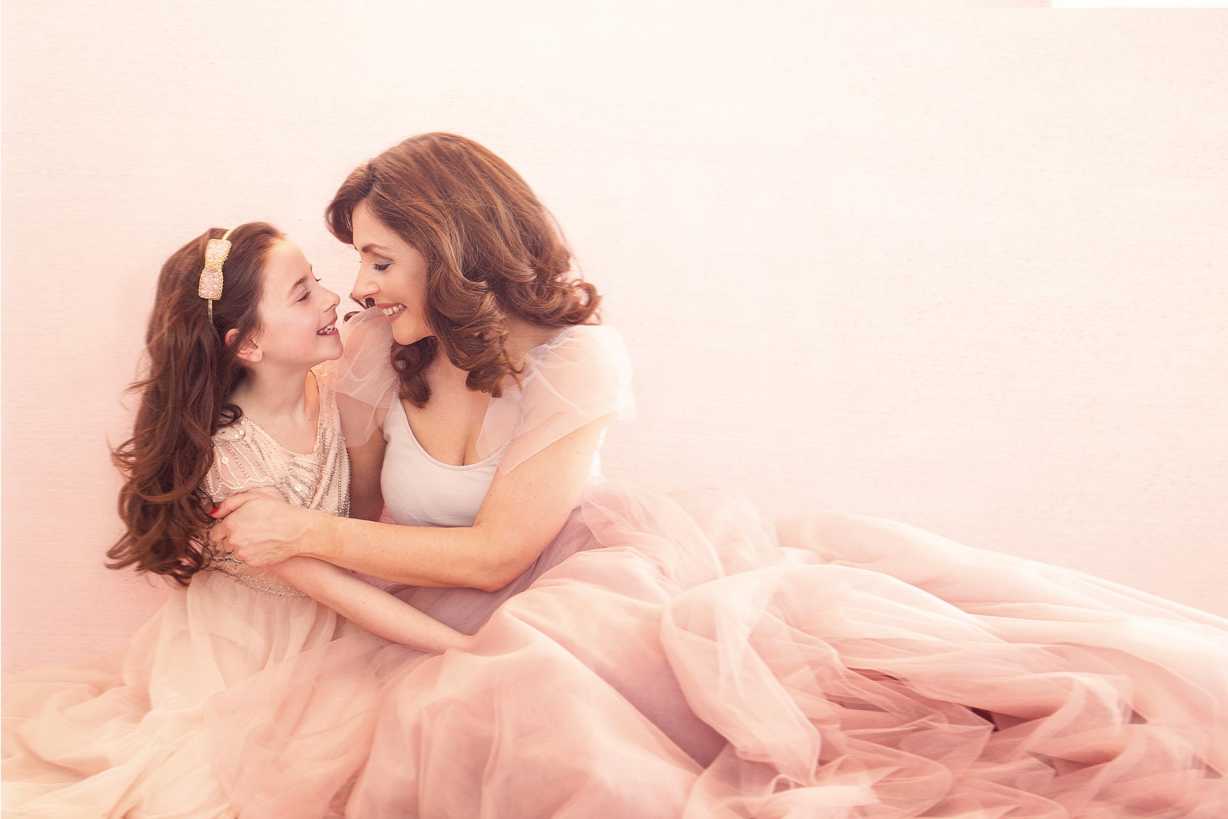 Mother & Daughter Photo shoot with Lenka Jones