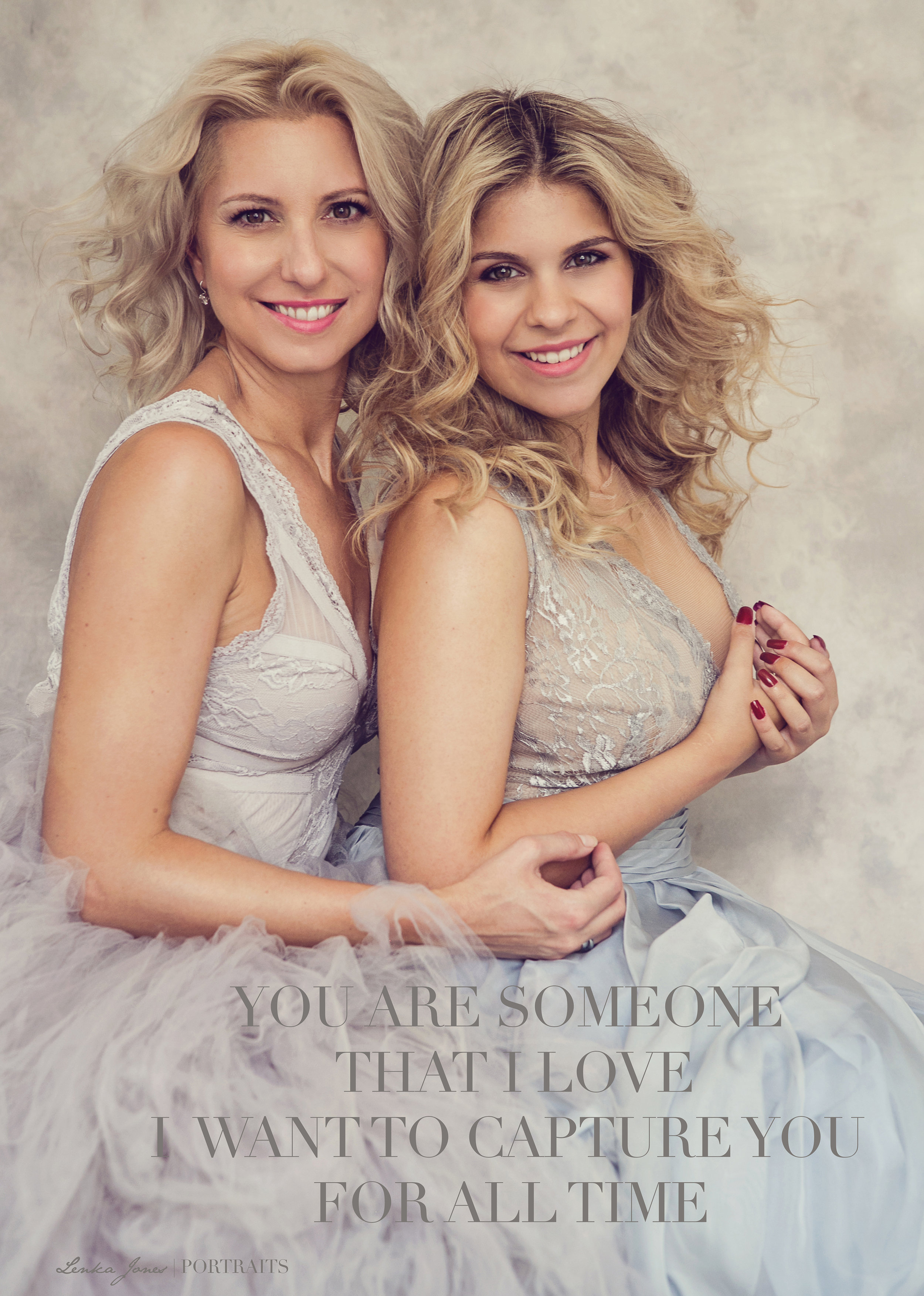 Mother & Daughter photo shoots with Lenka Jones