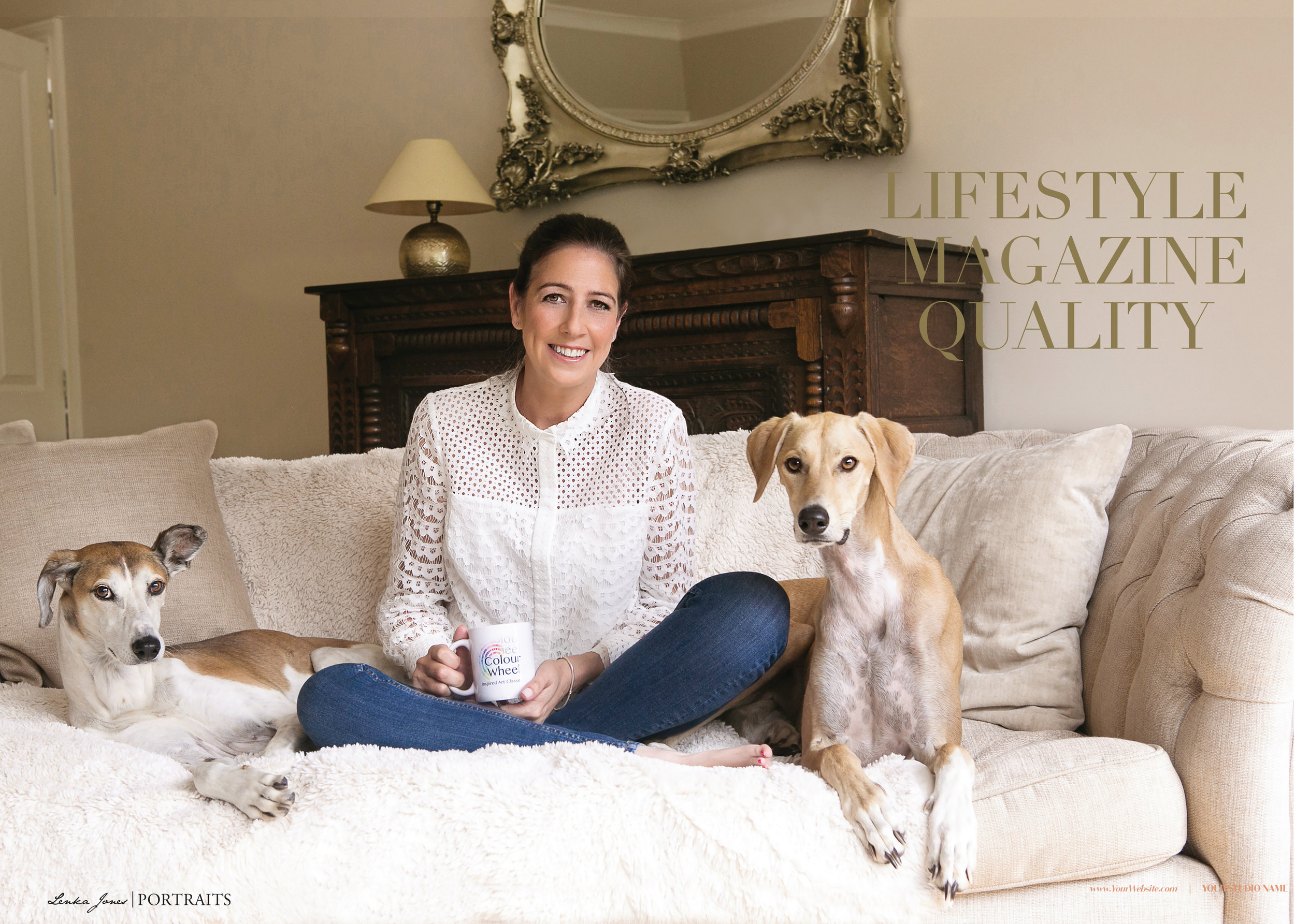 Pesonal Branding Photo shoot with Lenka Jones