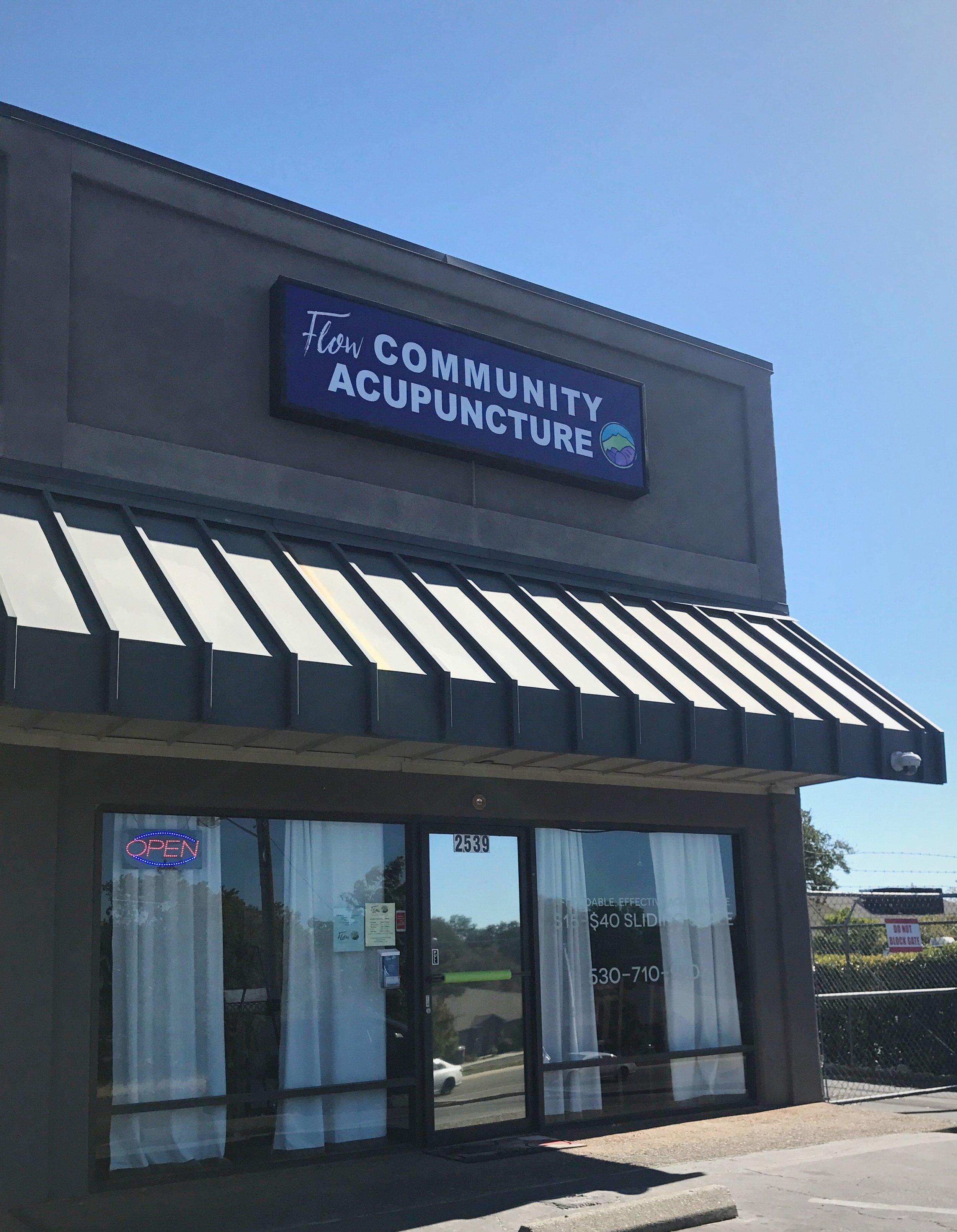 Flow Community Acupuncture exterior