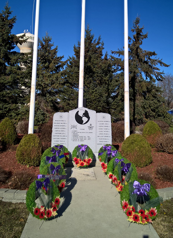 St-Isidore Cenotaph