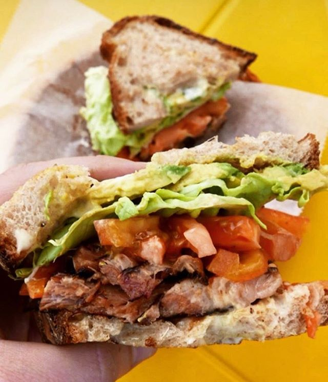 This bad boy making an appearance tomorrow for Pollita's last day open in Jade Alley. 📸: @soflafoodie  #blt #lastday #atmdd