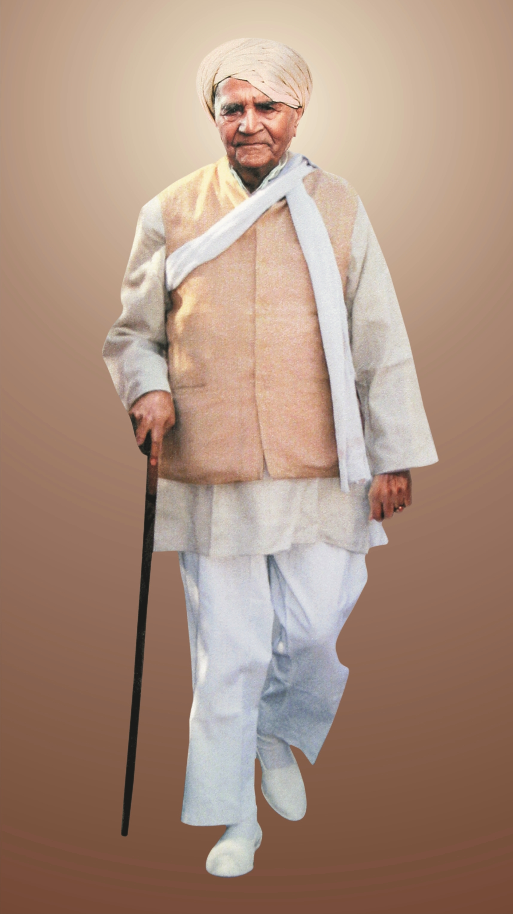 Bapuji walking.jpg