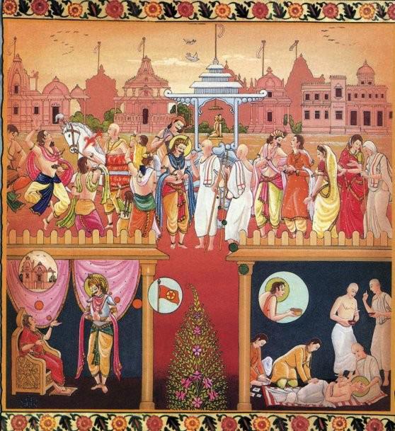 King Samprati and Acharya Suhastisuriji Maharaj