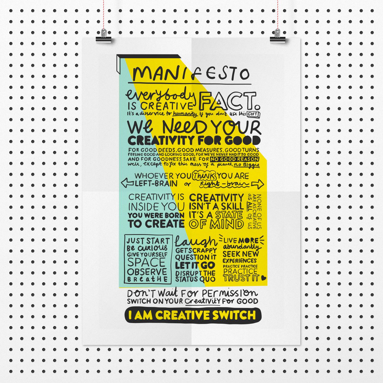 Creative Switch Manifesto