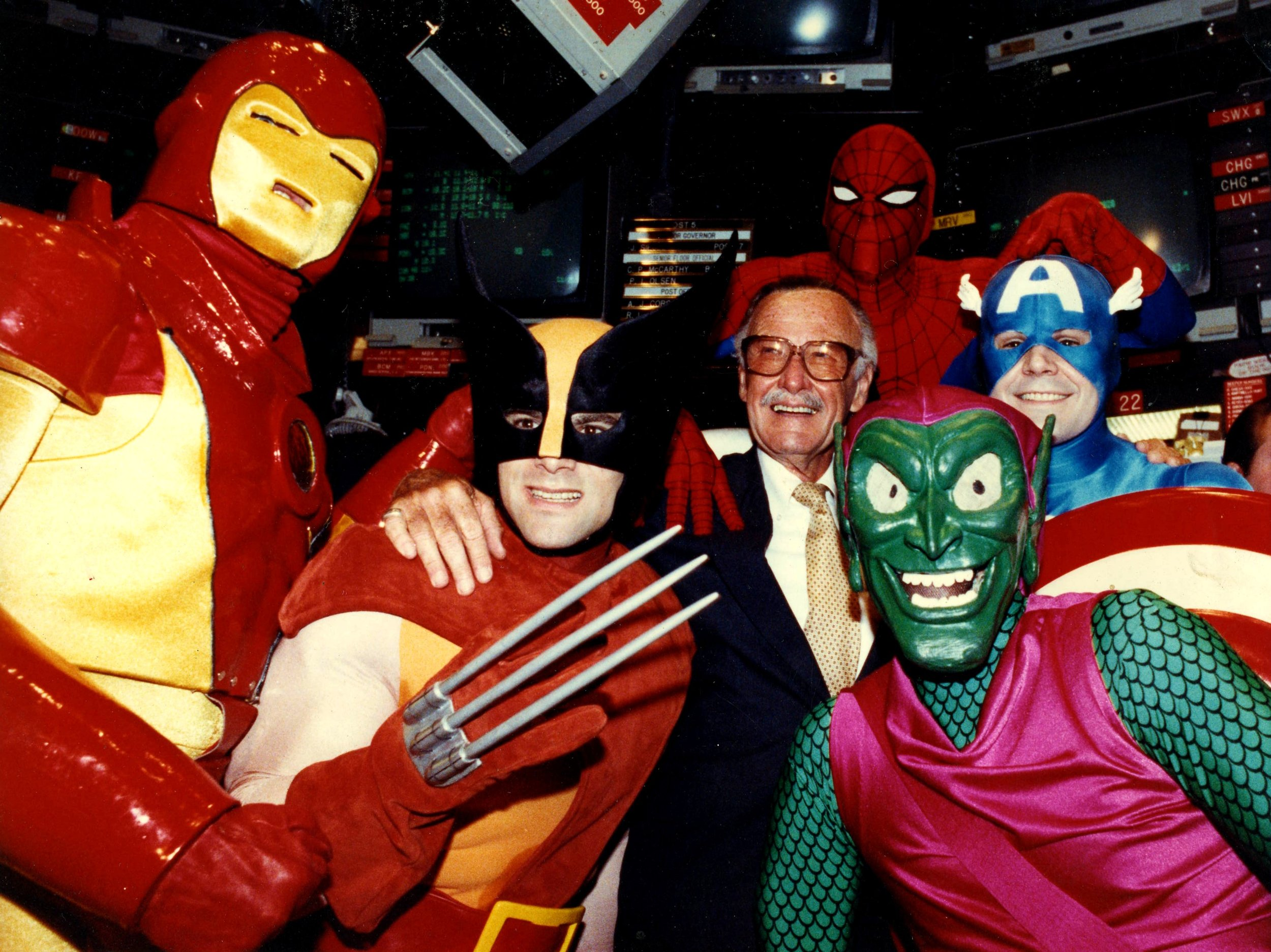 (Yes, that's Stan Lee!)
